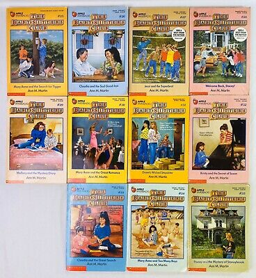 Lot 11 #25-35 Baby Sitters Club Chapter Books 25 26 27 28 29 30 31 32 33 34 35