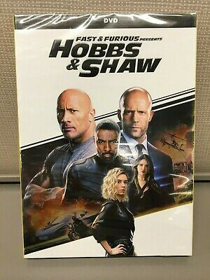 Fast & Furious Presents: Hobbs & Shaw - Brand New DVD - Sealed Hard Case