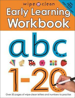 Wipe Clean Early Learning Workbook, Priddy Roger, Good Condition Book, ISBN 1849