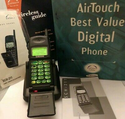 Vintage Samsung Flip Cell Phone Airtouch Original in Box
