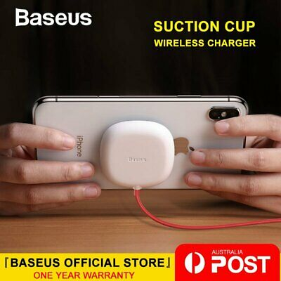 Baseus Wireless Charger Spider Suction Cup Charging Pad for iPhone Samsung LG