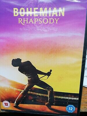 Bohemian Rhapsody (DVD, 2018)  Queen Freddie Mercury SEALED