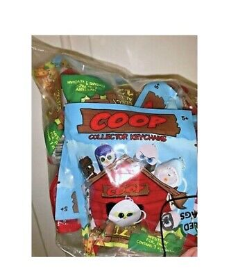 NEW COOP Journey #1 Complete Set of 12 Keychains Unopened Packages. Collectors