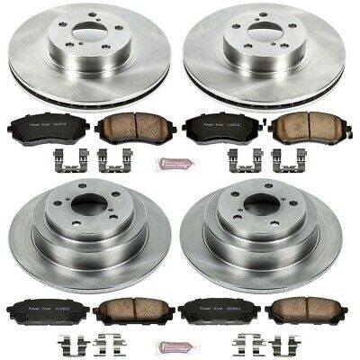 Autospecialty KOE2733 1-Click OE Replacement Brake Kit