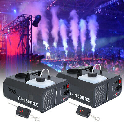2×1500W Macchina del fumo DMX Vertical Fogger UpSpray Up Colpo Smoke Fog Machine