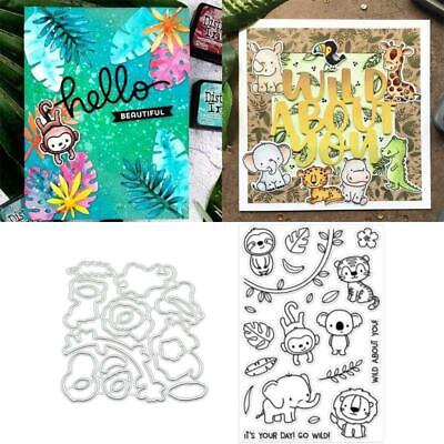 Animal Set Metal Cutting Dies Stencils for DIY Paper Card Embossing