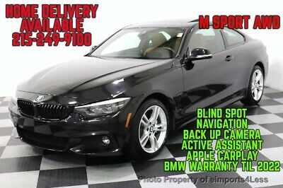 2018 BMW 4-Series CERTIFIED 440i xDrive M Sport AWD NAVI CAM HK SOUN BMW 4 Series 34,981 Miles eimports4less Auto Sales Inc. Perkasie