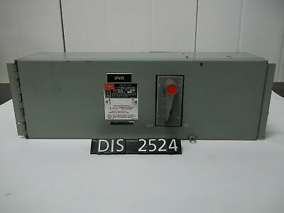 Federal Pacific 600 Volt 100 Amp Fused QMQB Panelboard Switch (DIS2524)