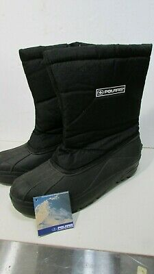 Brand New Polaris Snowmobile Boots Mens Size 12 black thinsulate