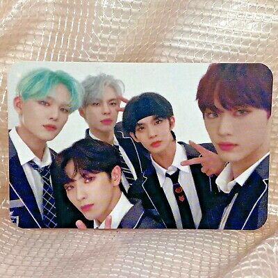 Group Official Photocard CIX 1st EP Album Hello Stranger Chapter 2