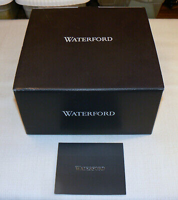 Waterford Crystal Eastbridge Stemless Wine Glasses --Empty Retail Box Only--