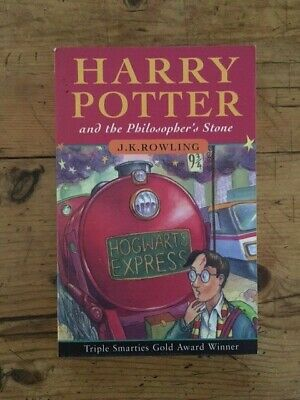 *Signed* Harry Potter Book (1997) The Philosopher's Stone, Signed by J.K.Rowling