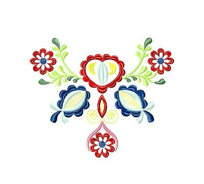 Machine embroidery design Roses Flowers cross stitch pattern
