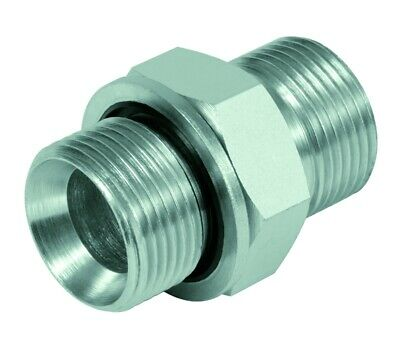 """Straight Screw-In Connection Inch Bsp with Soft Seal G 1/8"""" to G2 """""""