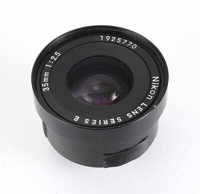 35Mm 35/2.5 Nikon Series E Lens Assembly Only (Light Haze, Some Dust)/212880