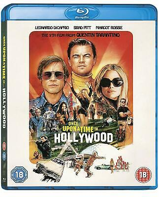 Once Upon a Time in Hollywood - Blu Ray -  New & Sealed