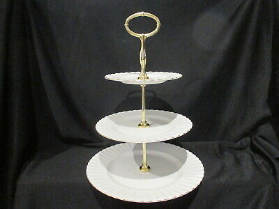 Royal Albert - VAL D'OR - 3 Tiered Cake Stand
