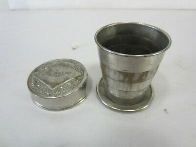 Anitque Pat. Date 1897 Knox Silverplated Collaspeable Cup