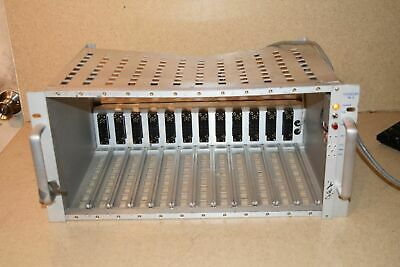 Tennelec Tb3 Tb 3 12 Bin Nim Bin Crate W/ Ortec 402A Power Supply (Jk)