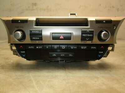 2013 Lexus ES300H Radio Receiver Heater Controls OEM