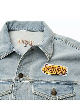 New With Tags Guess Originals Seinfeld Denim Jacket Unisex XL Jeans Coat