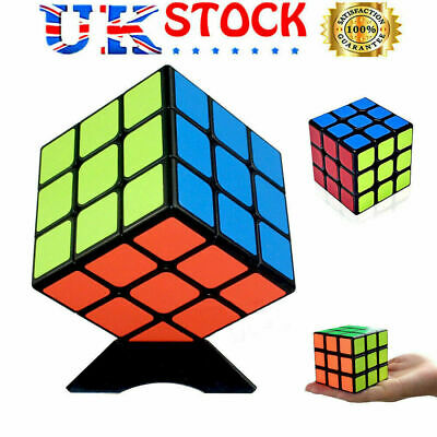 3X3 Magic Cube Smooth Fast Speed Rubix Rubiks Puzzle Kids Creative Gifts New