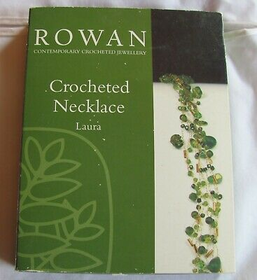 CLOSE-OUT! ROWAN Contemporary Crocheted Jewellery CROCHET NECKLACE KIT - Laura