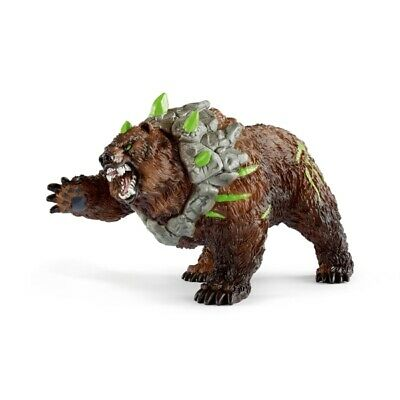 Schleich 14685 Grizzly ours neuf avec drapeaux s#1