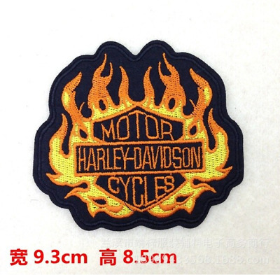 TOPPA PATCH X MOTOCICLISTA  HARLEY DAVIDSON  BIKERS THERMOADERENTE