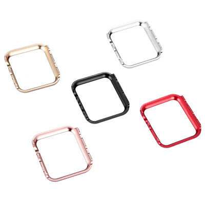 Aluminum Metal Protective Case Skin iWatch Cover For iWatch Apple Watch 5 4 3 2