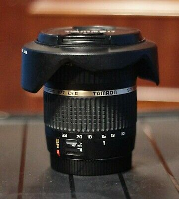TAMRON SP AF 10-24/3.5-4.5 Di II For Canon Eos Mount