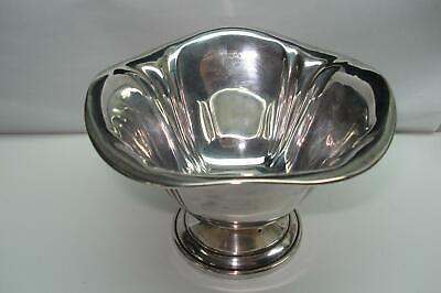 Alvin Sterling Silver Deep Candy Dish Numbered