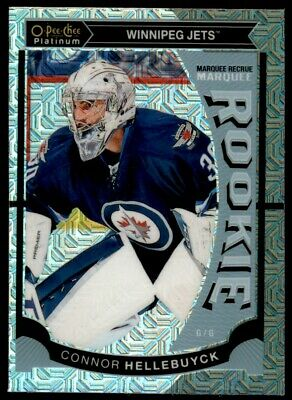 2015-16 O-Pee-Chee Platinum Marquee Rookies Traxx #M36 Connor Hellebuyck -