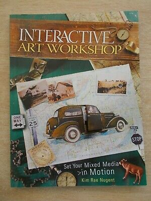 Interactive Art Workshop~Kim Rae Nugent~Cards~Altered Books~Postcards~Trading...