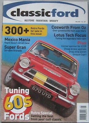 Classic Ford magazine May 2002