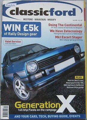 Classic Ford magazine July 2003