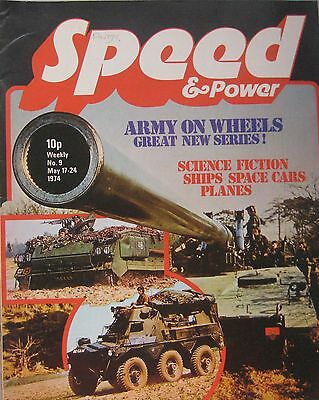 Speed & Power magazine 17 May 1974 Issue 9
