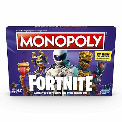 Monopoly: Fortnite Edition Board VER 2 NEW Sealed