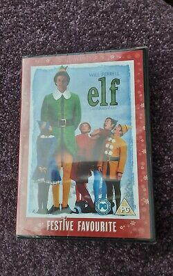 ELF DVD Will Ferrell (Still in Wrapping) Region 2
