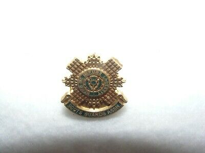 Safety Pin Fixing SCOTS GUARDS BADGE Enamel Excellent Quality