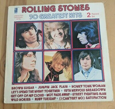 ITALY 1977 THE ROLLING STONES 2 x LPs ABKCO NL 03042 30 GREATEST HITS