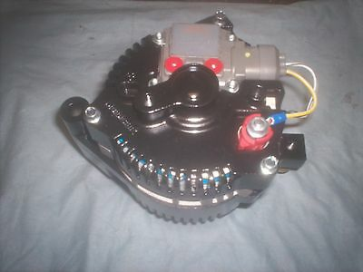 3G Small Body NEW HD ALTERNATOR FORD,BLACK,HOTROD ONE,1-WIRE HIGH OUTPUT 160 AMP