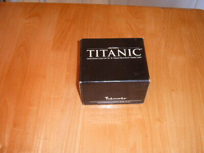 Limited Edition Boxed 1998 set of 25 Inkworks Titanic Trading cards in Trunk.