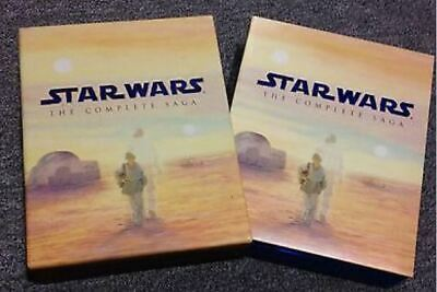 Star Wars The Complete Saga Nine Disc Boxset Original & Prequel Trilogy Blu-Ray