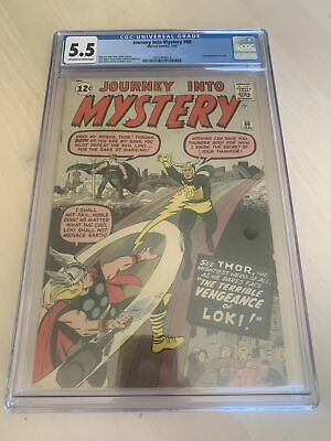 Journey Into Mystery 88 CGC Second Appearance of Loki Marvel 1963