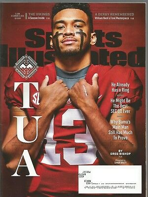 Sports Illustrated Magazine (December 31, 2018) COLLEGE FOOTBALL PLAYOFF PREVIEW