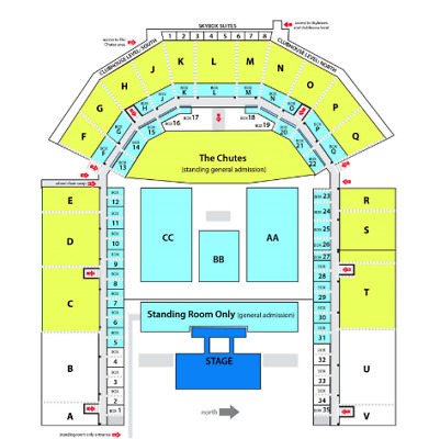 Chris Young June 26, 2 or 4 Tickets Floor Row 1 - Front Row Greeley Stampede