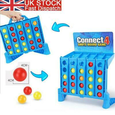 Connect 4 Shots Kids Childrens Games Family Funny Toy 8 Years+ Christmas Gifts S