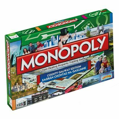 Winning Moves Monopoly County Galway Edition Board Game