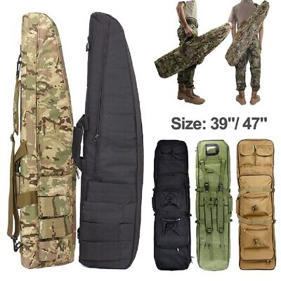 Nylon Gun Bag Case Rifle Backpack for Sniper Carbine Airsoft Hunting Accessories